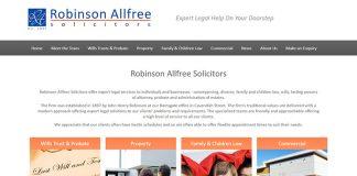 Robinson Allfree Solicitors Kent