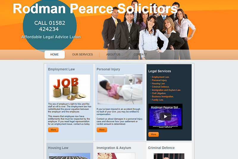 Rodman Pearce Solicitors in Bedfordshire