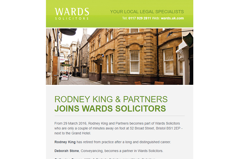 Rodney King Solicitors in Bristol