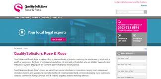 Rose And Rose Solicitors Surrey