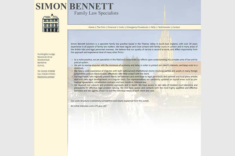 Simon Bennett Solicitors in Buckinghamshire