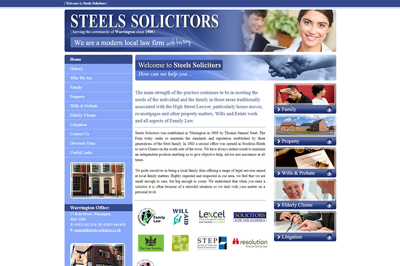 Steels Solicitors Cheshire
