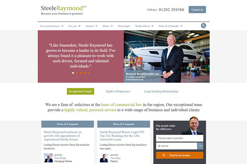 Steele Raymond Solicitors Dorset