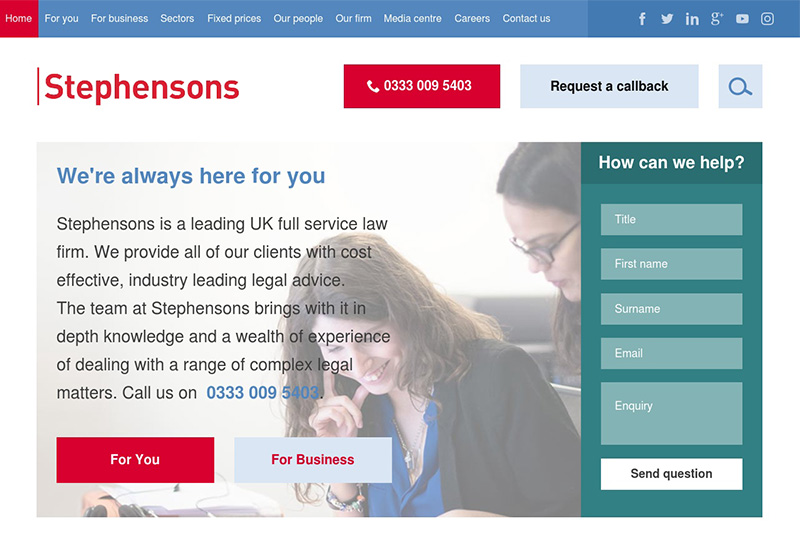 Stephensons Solicitors in Lancashire