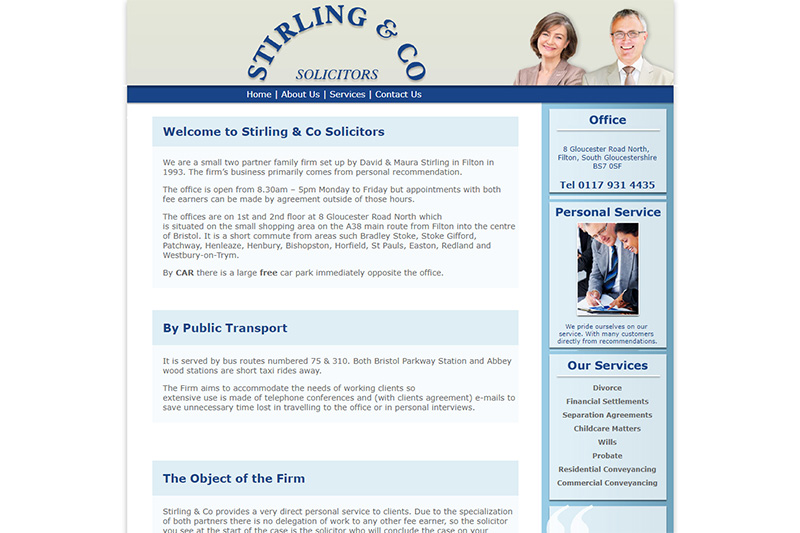 Stirling & Co Solicitors in Bristol