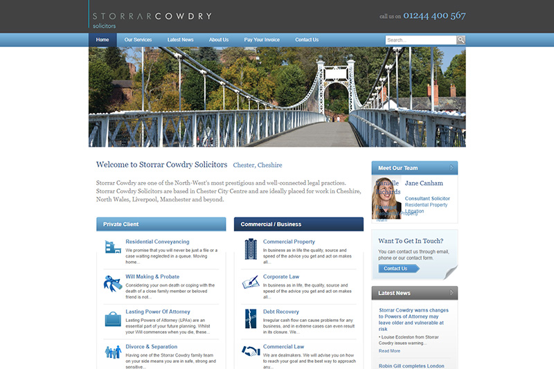 Storrar Cowdry Solicitors Cheshire