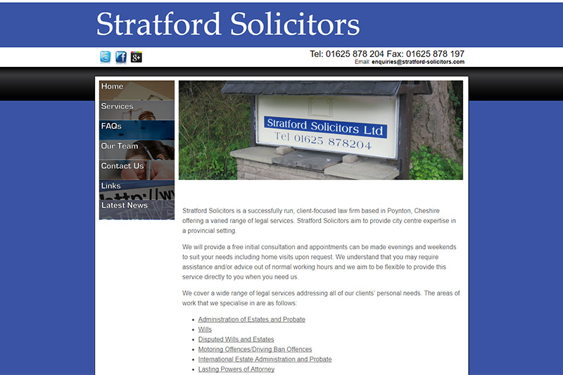 Stratford Solicitors Cheshire