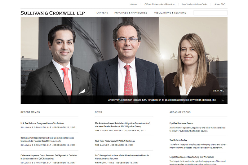 Sullivan & Cromwell Solicitors London