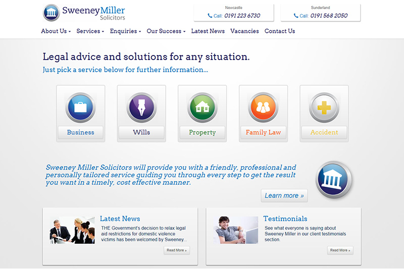 Sweeney Miller Solicitors Tyne And Wear