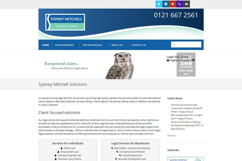 Sydney Mitchell Solicitors Birmingham