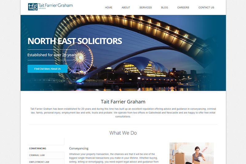 Tait Farrier Graham Solicitors Tyne And Wear