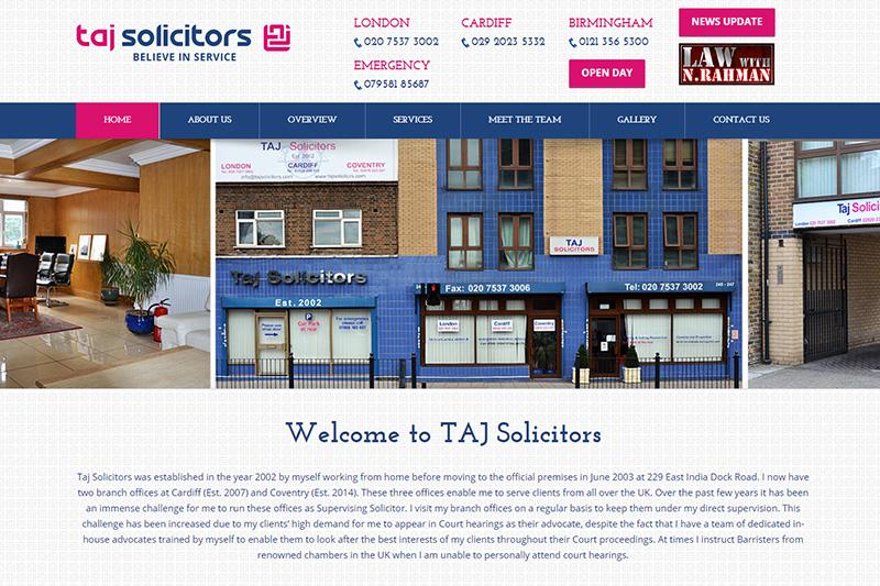 Taj Solicitors London