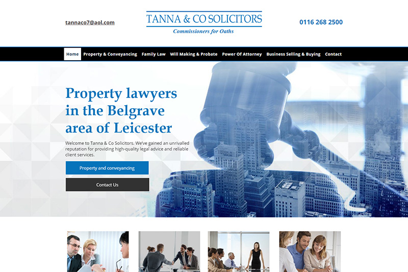 Tanna & Co Solicitors in Leicestershire