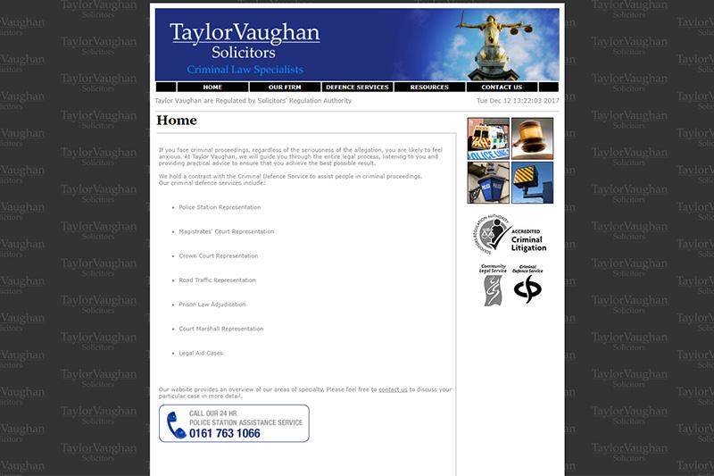 Taylor Vaughan Solicitors Lancashire