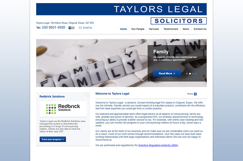 Taylors Legal Solicitors in Essex