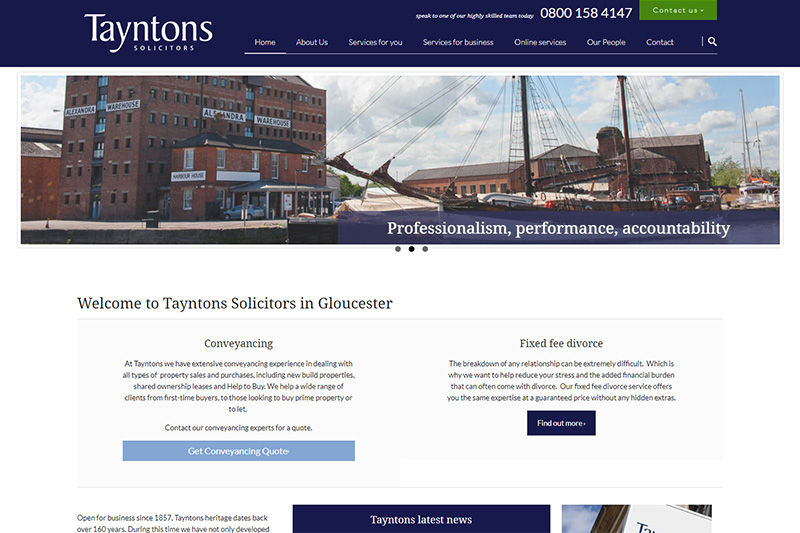 Tayntons Solicitors Gloucester