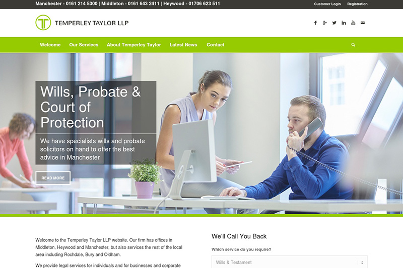 Temperley Taylor Solicitors in Manchester