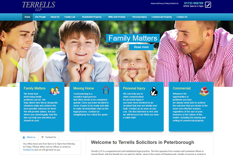Terrells Peterborough Solicitors Cambridgeshire