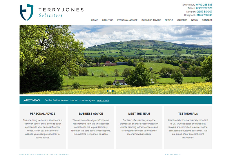 Terry Jones Solicitors Shropshire