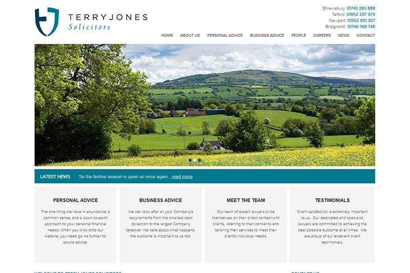 Terry Jones Solicitors in Shropshire