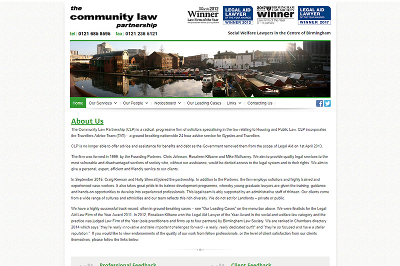 The Community Law Partnership Solicitors Birmingham