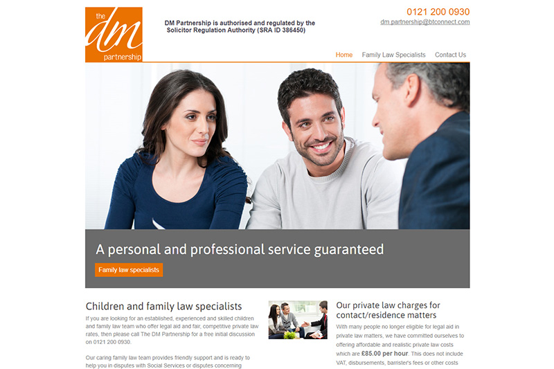 The DM Partnership Solicitors Birmingham