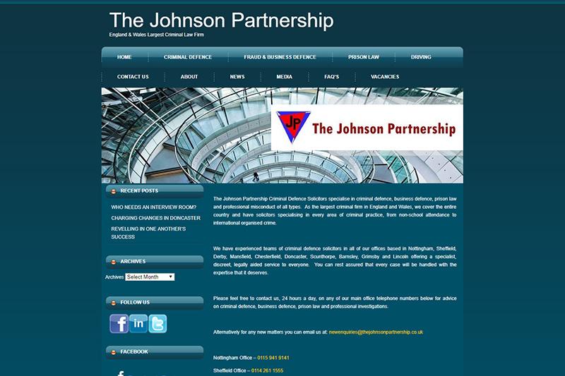 The Johnson Partnership Solicitors Nottinghamshire