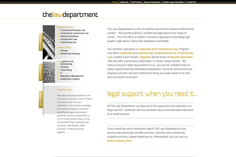 The Law Department Solicitors London