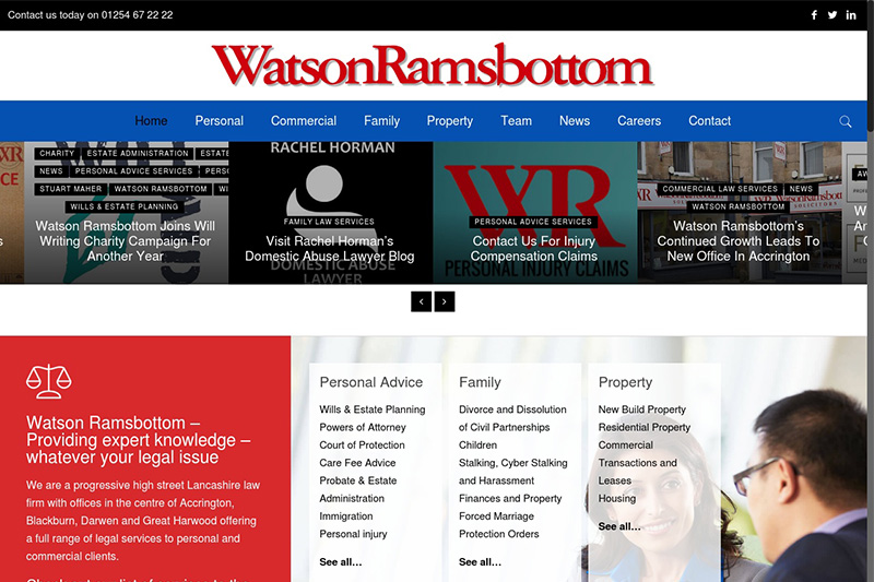 The Watson Ramsbottom Partnership Blackburn Solicitors Lancashire