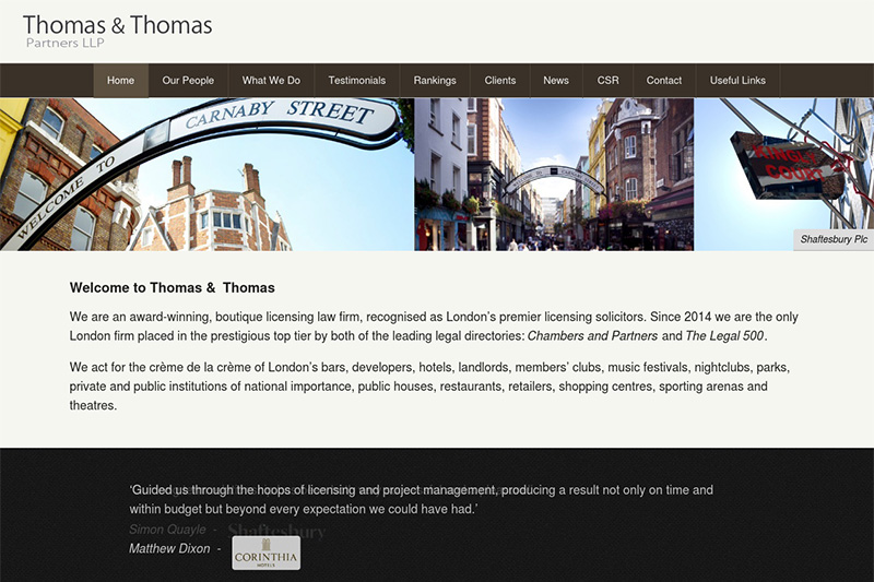 Thomas And Thomas Solicitors London