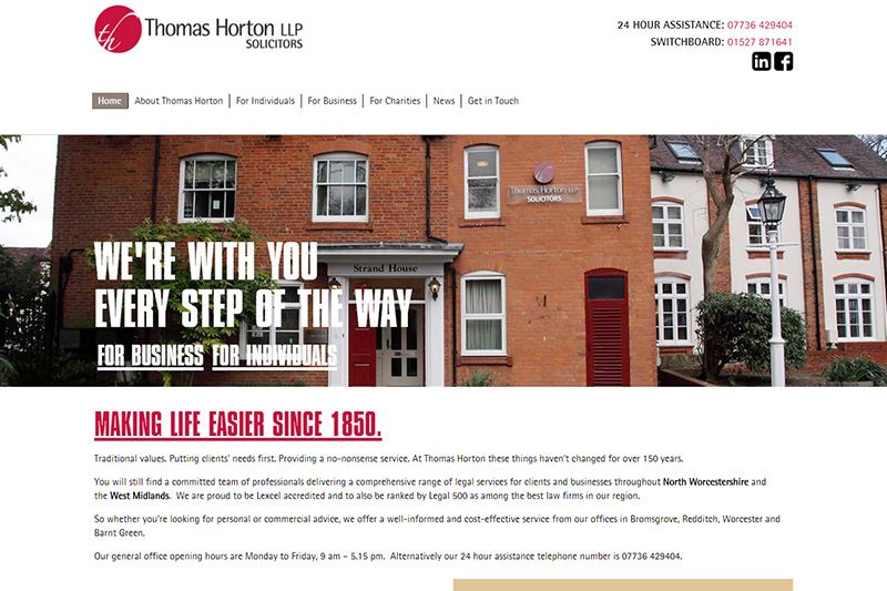Thomas Horton Solicitors Worcestershire