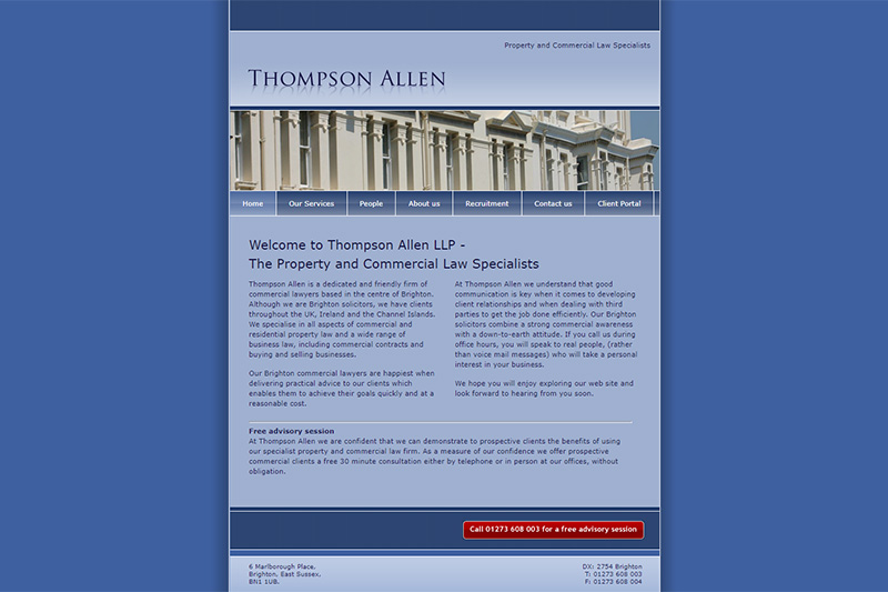 Thompson Allen Solicitors Sussex