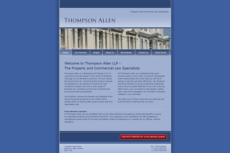 Thompson Allen Solicitors Sussex
