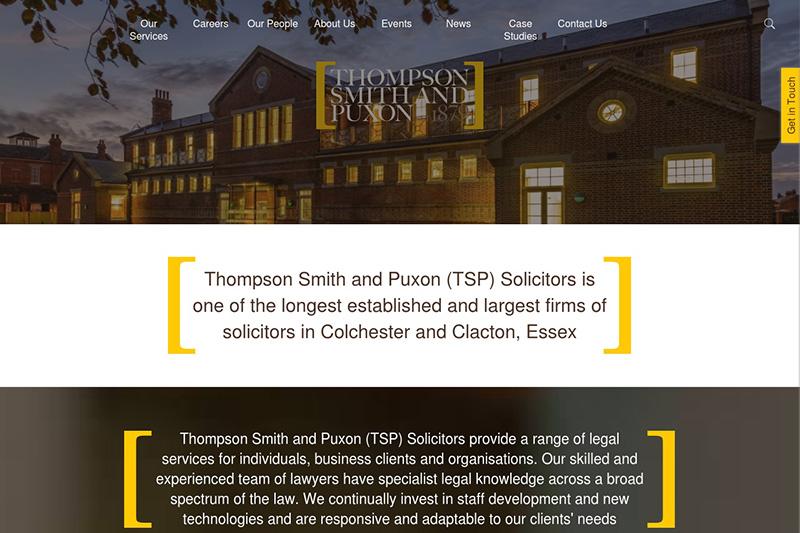 Thompson Smith & Puxon Solicitors Essex
