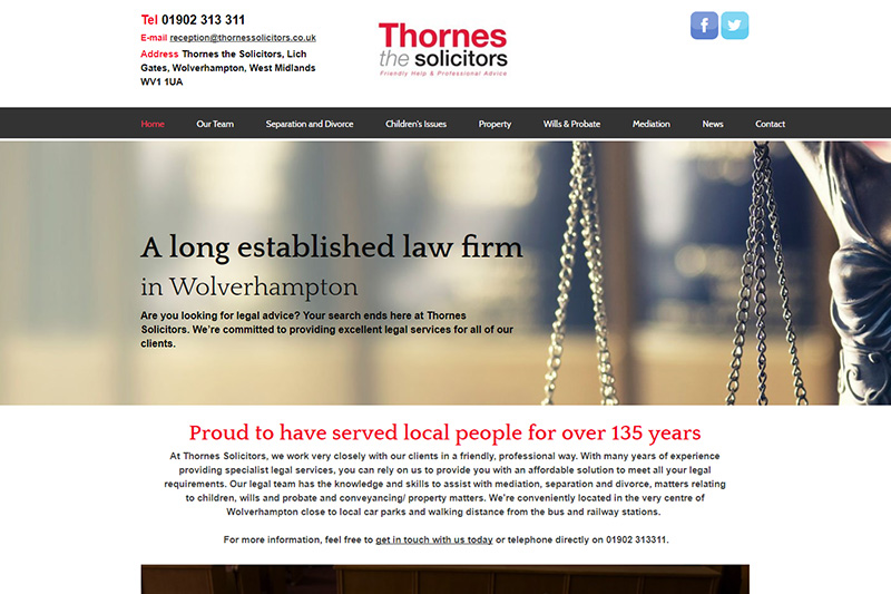 Thornes Solicitors Wolverhampton