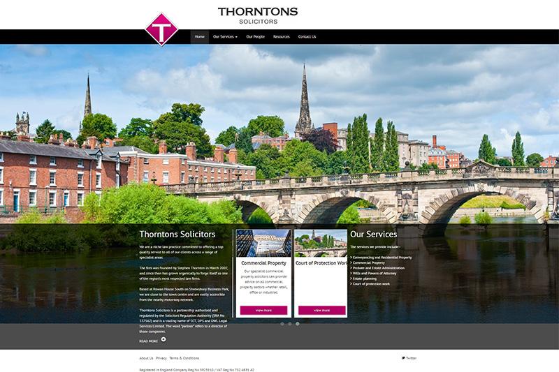 Thorntons Solicitors Shrewsbury