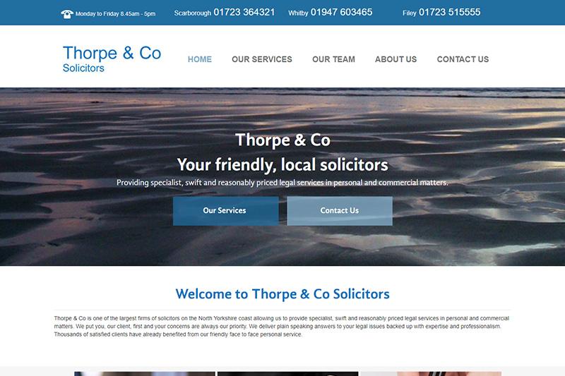 Thorpe & Co Solicitors Scarborough