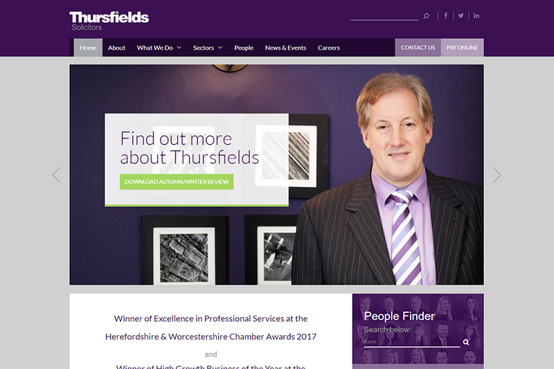 Thursfields Solicitors Worcestershire
