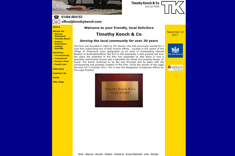 Timothy Kench & Co Solicitors Buckinghamshire