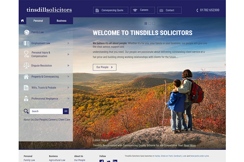 Tinsdills Solicitors in Staffordshire