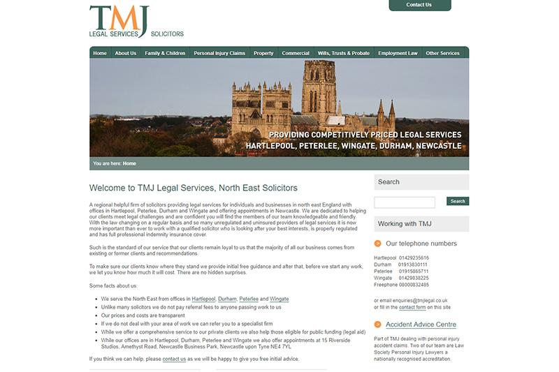 TMJ Legal Solicitors Durham
