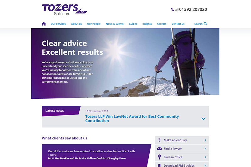 Tozers Solicitors Devon