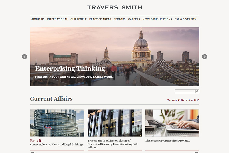 Travers Smith Solicitors London