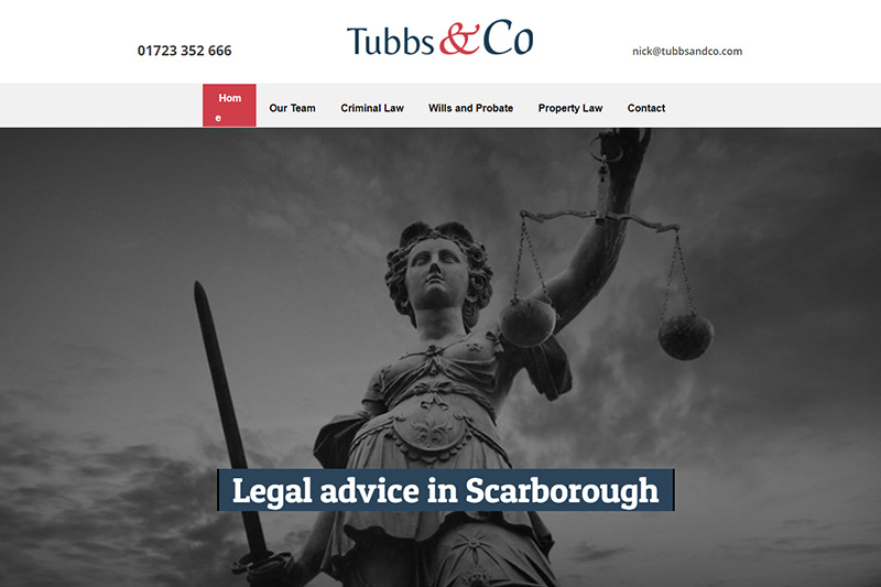 Tubbs & Co Solicitors Scarborough