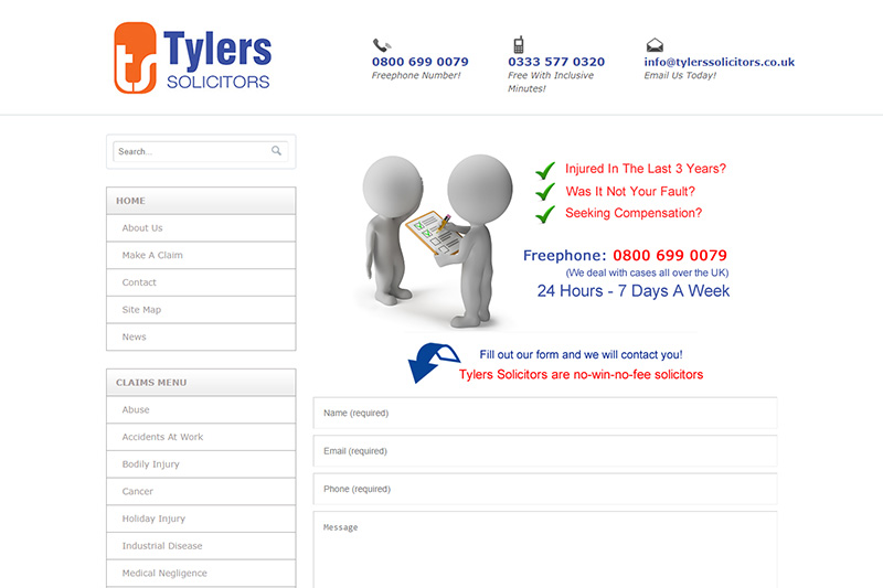 Tylers Compensation Solicitors Manchester