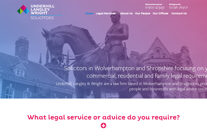 Underhill Langley & Wright Solicitors West Midlands