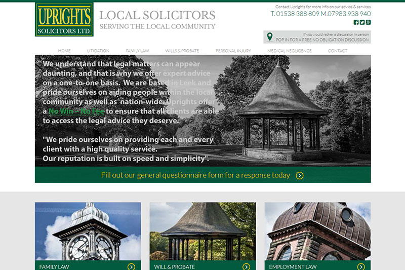 Uprights Solicitors Staffordshire