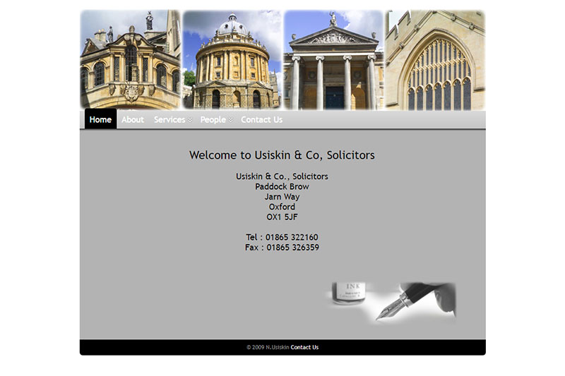 Usiskin & Co Solicitors in Oxfordshire