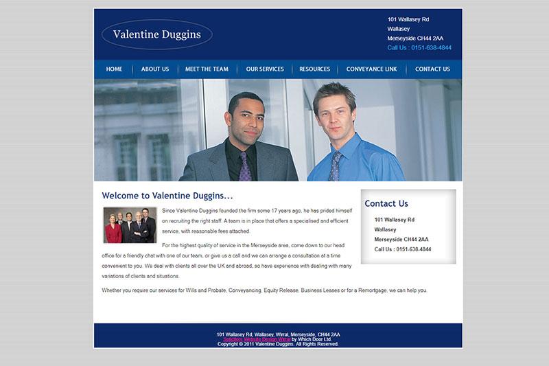 Valentine Duggins Solicitors Merseyside