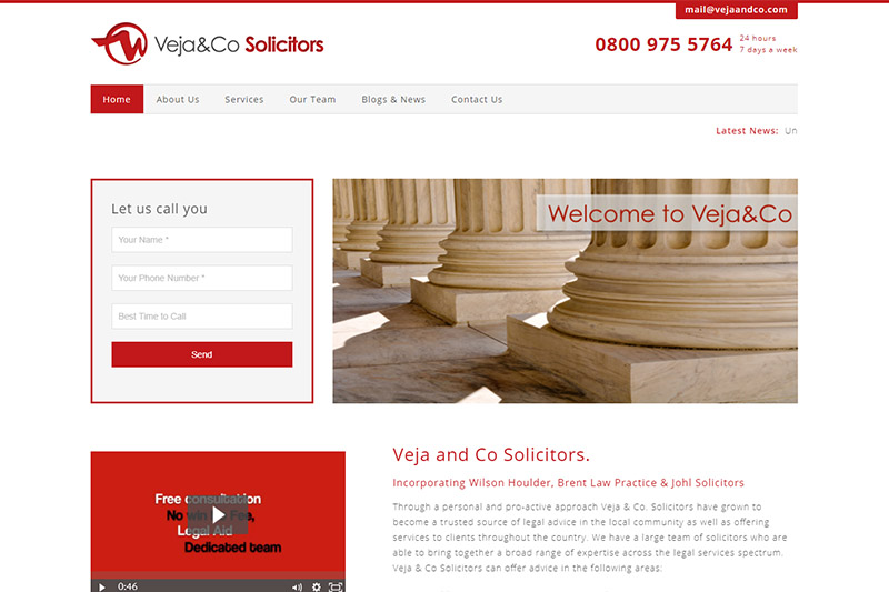 Veja and Co Solicitors Middlesex